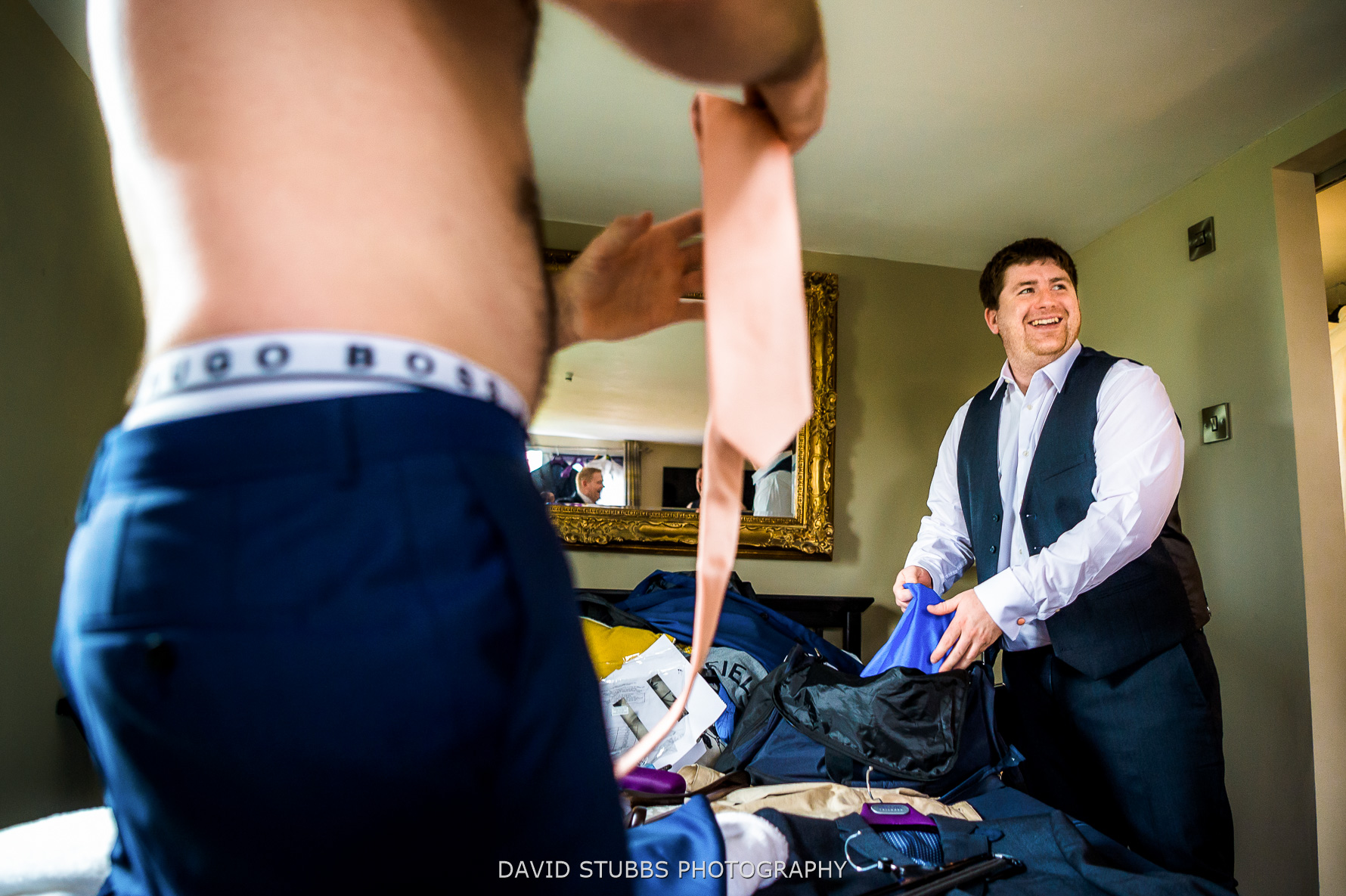ties and boxers