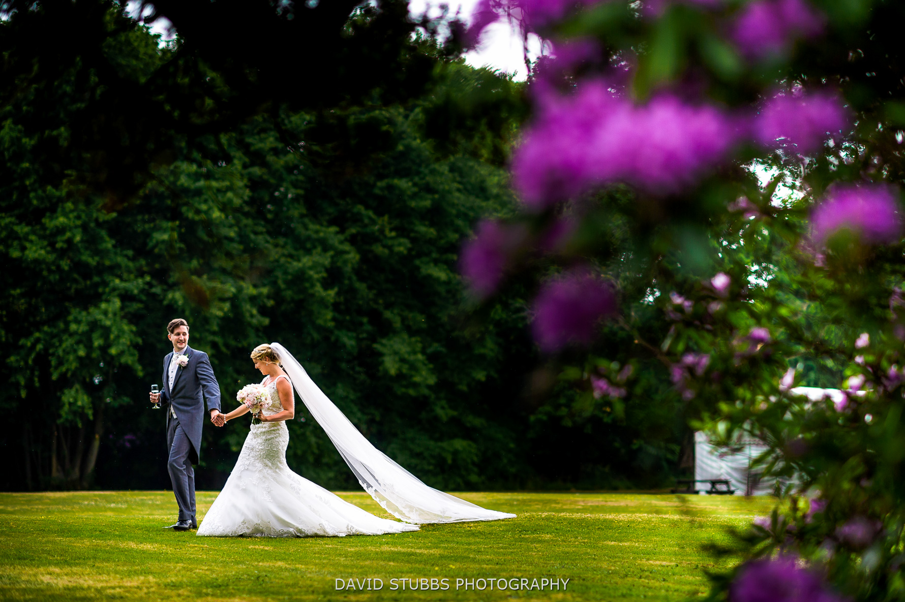 stunning wedding photo at irton in the lakes