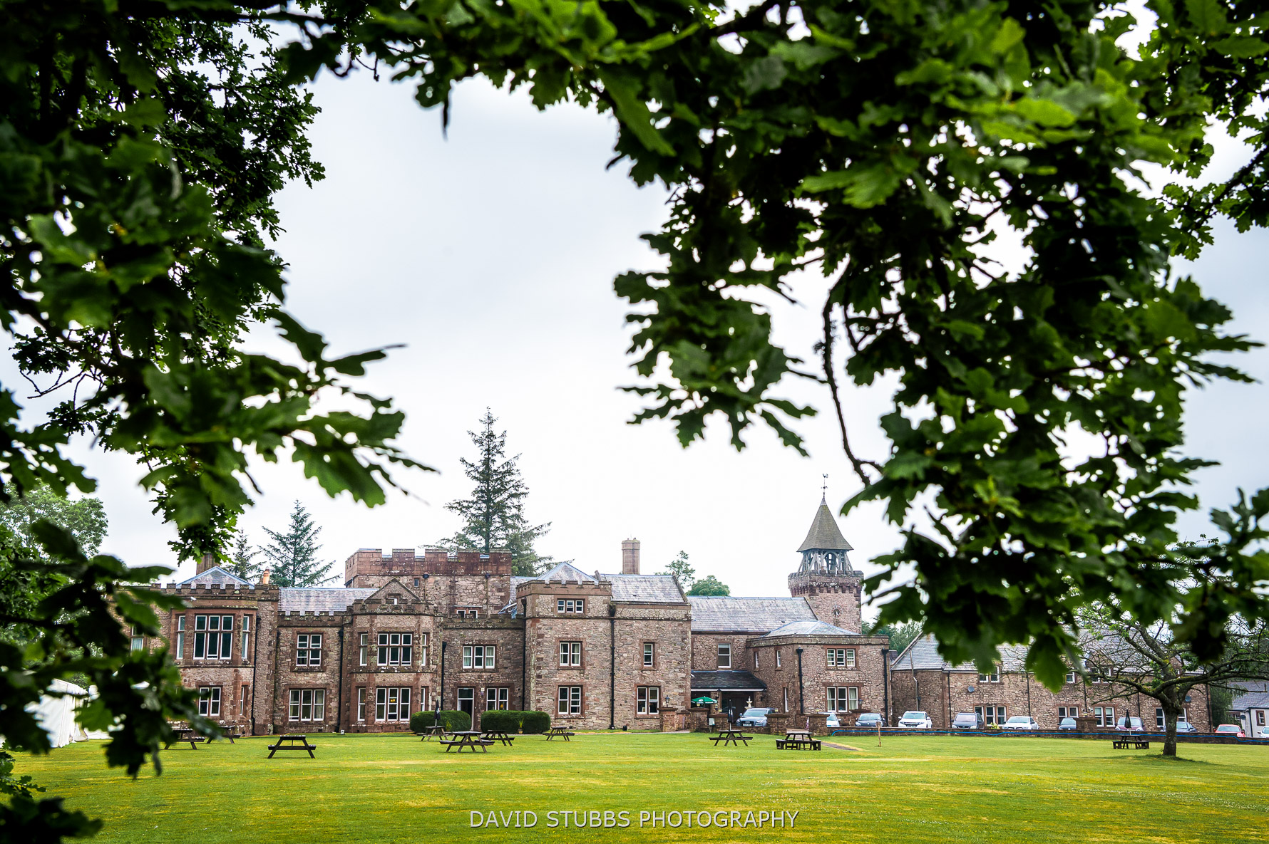 irton hall wedding