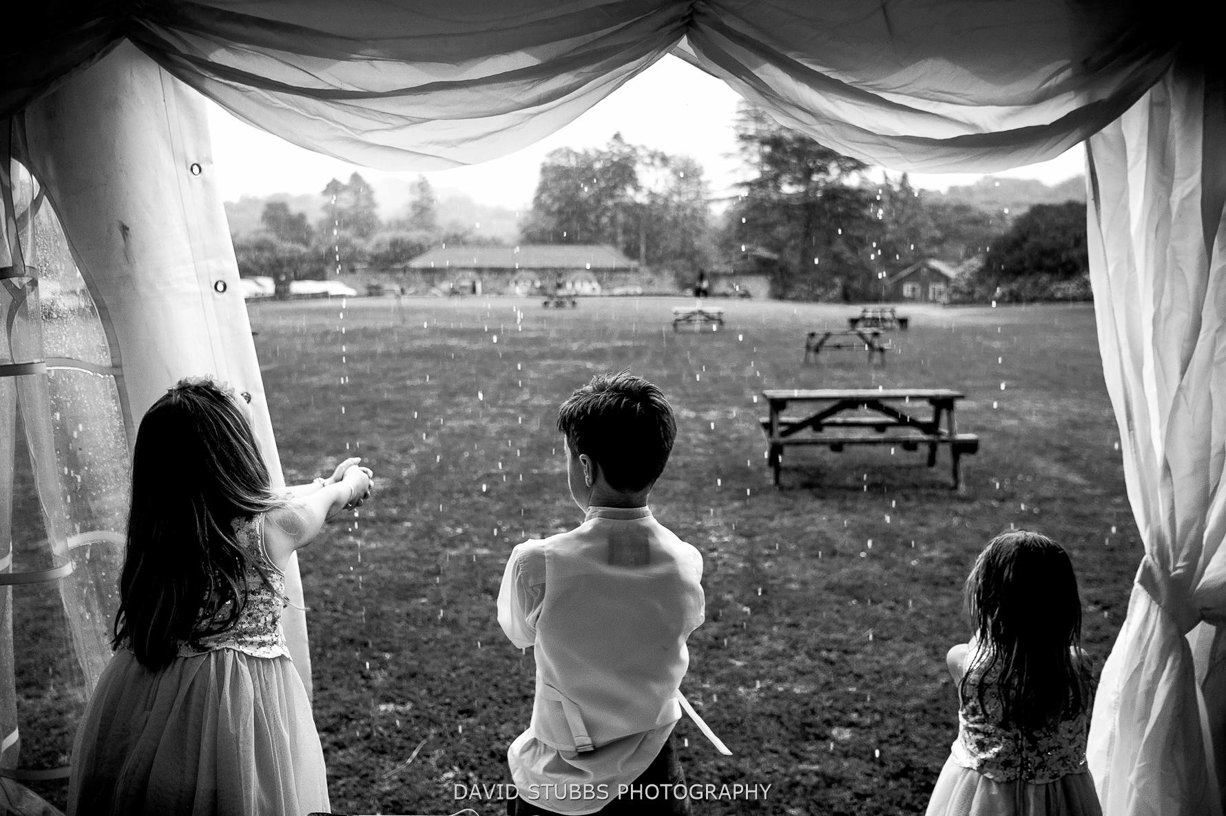 rain with kids