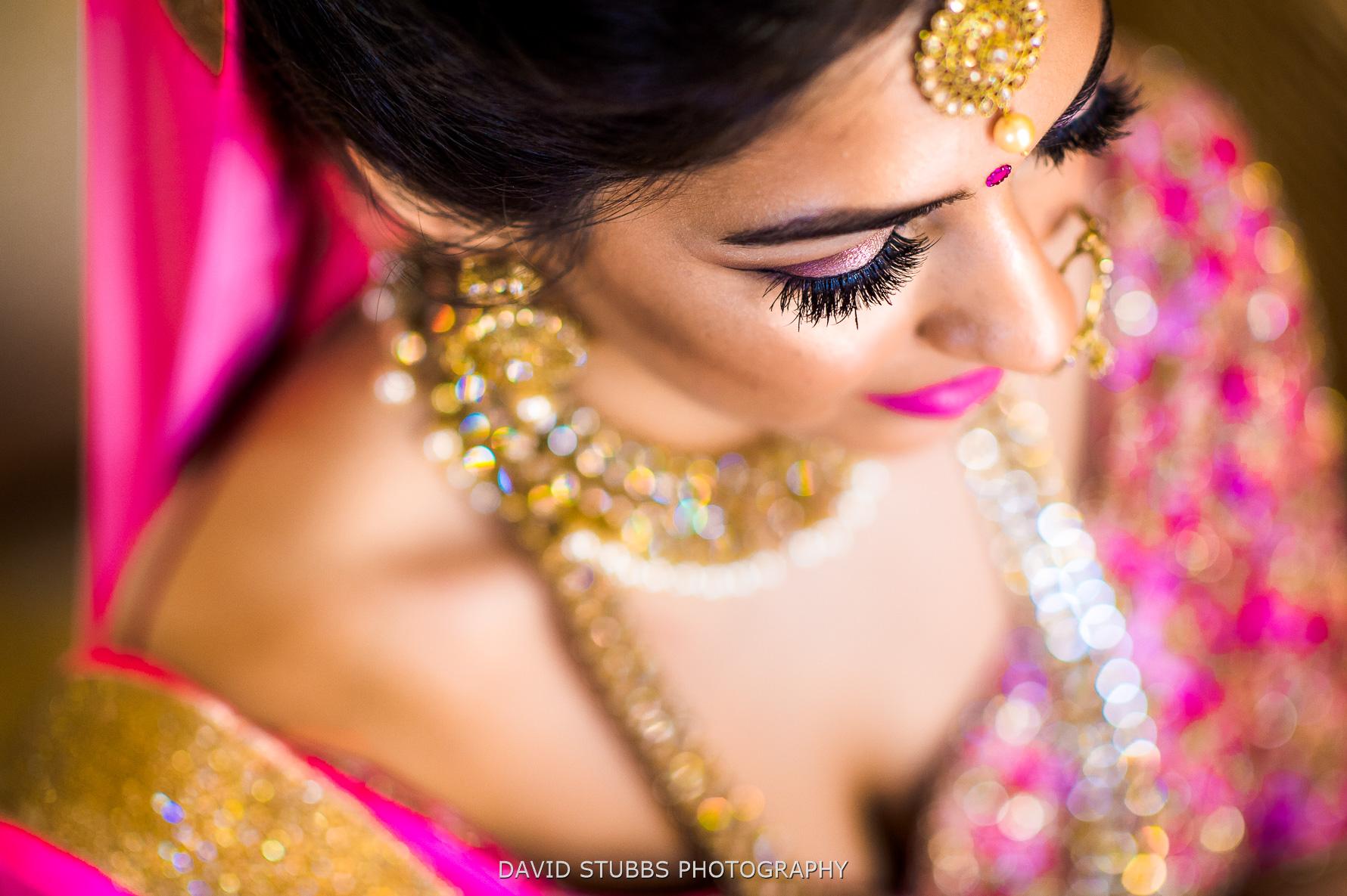 bride close-up