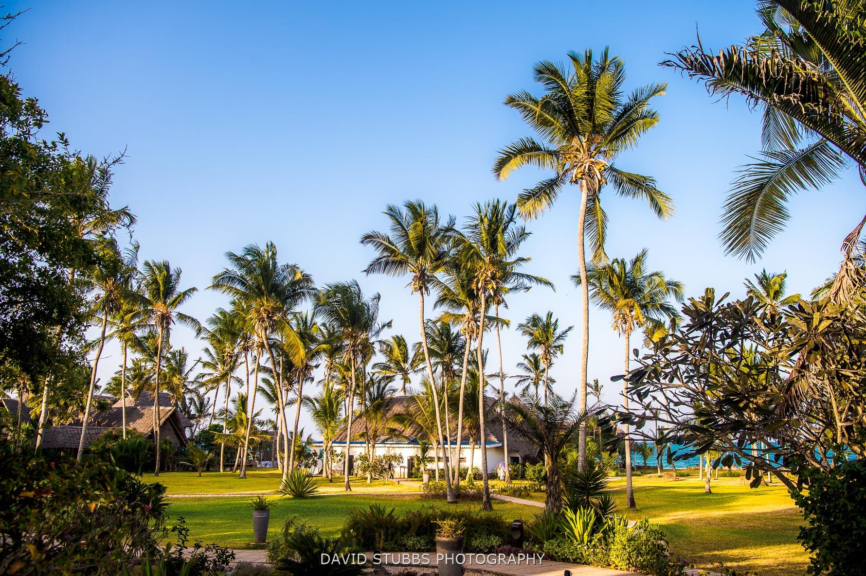 resort on island