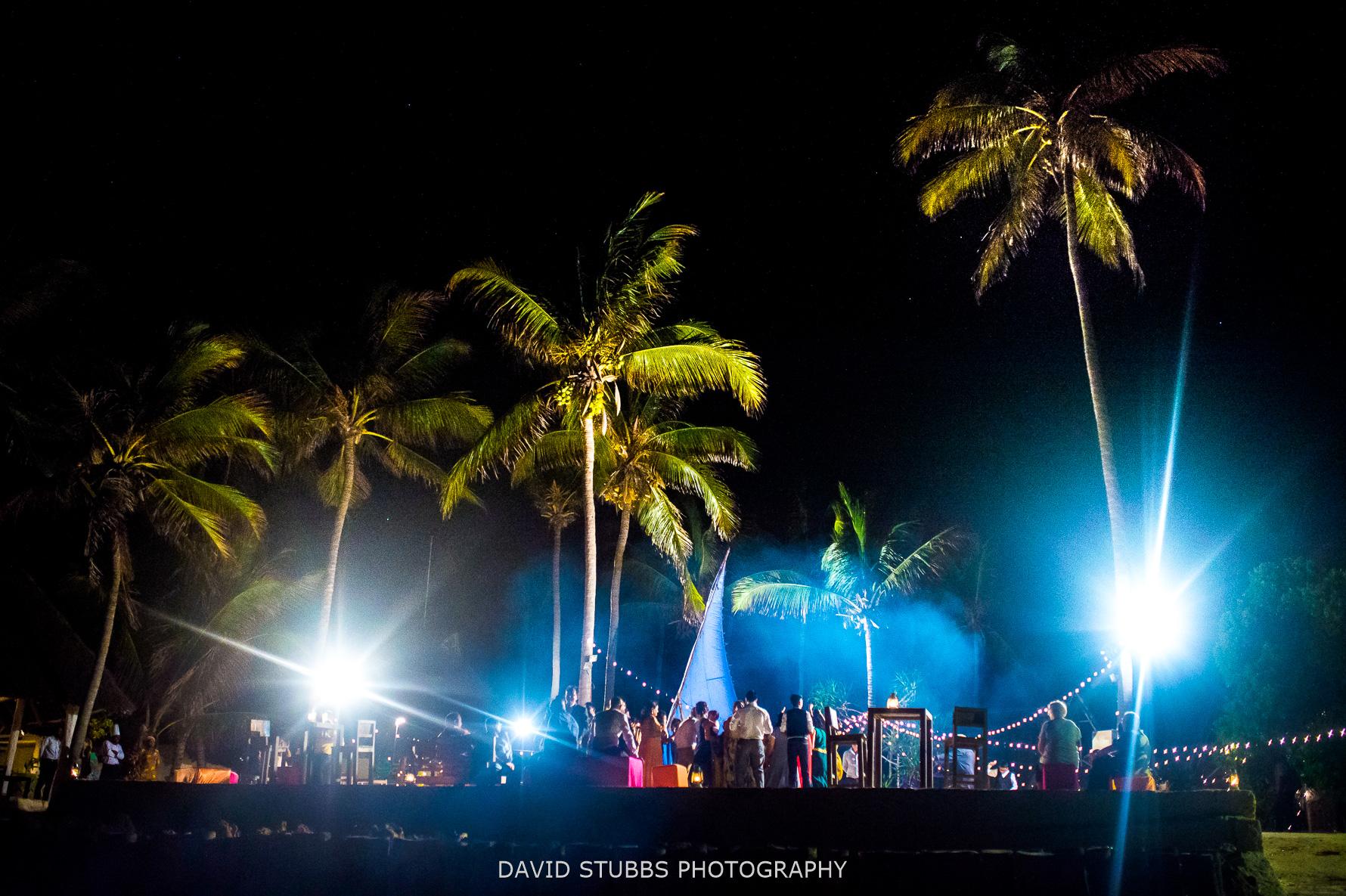 party on the beach zanzibar wedding