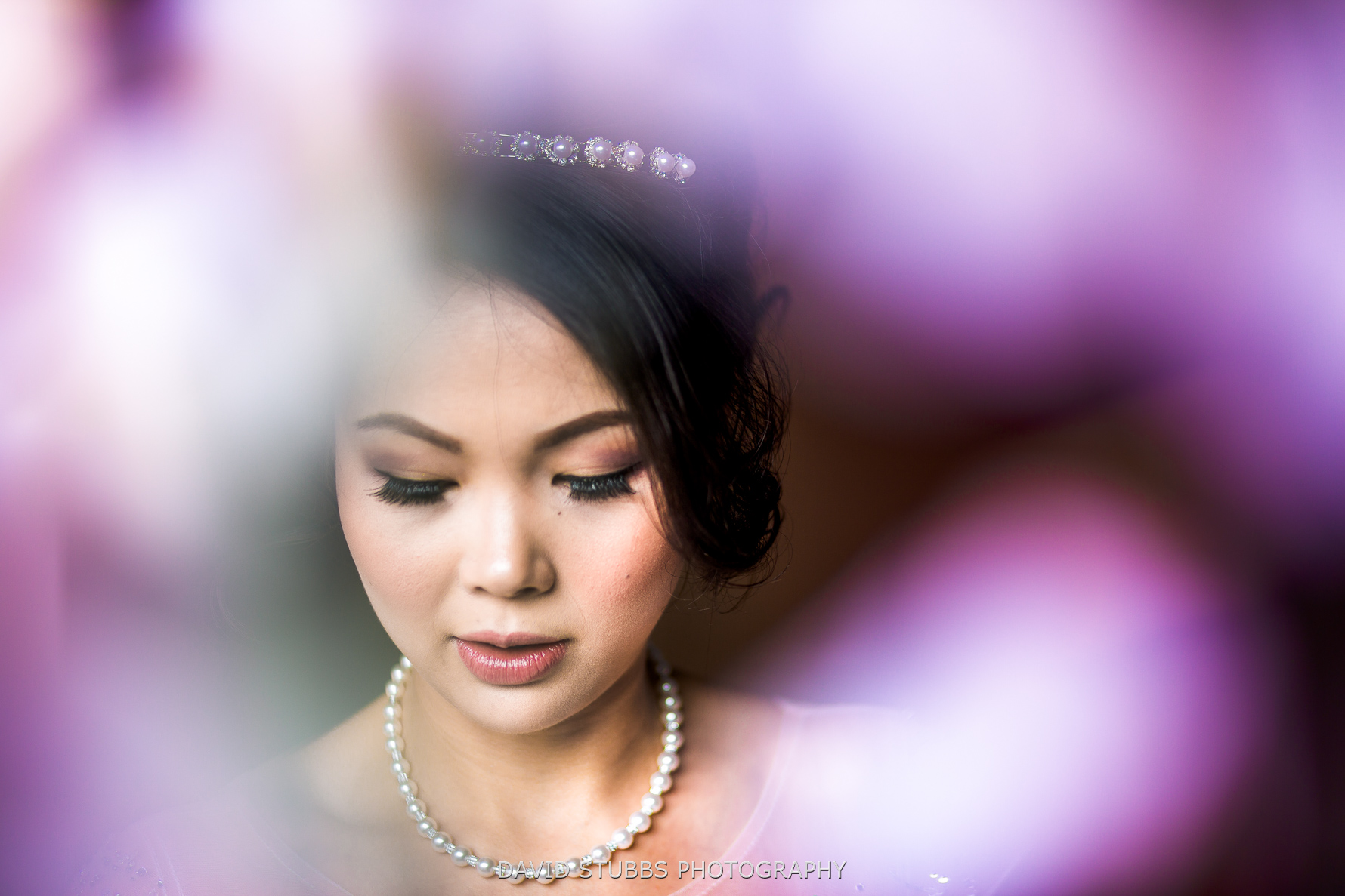 beautiful photo of chinese bride