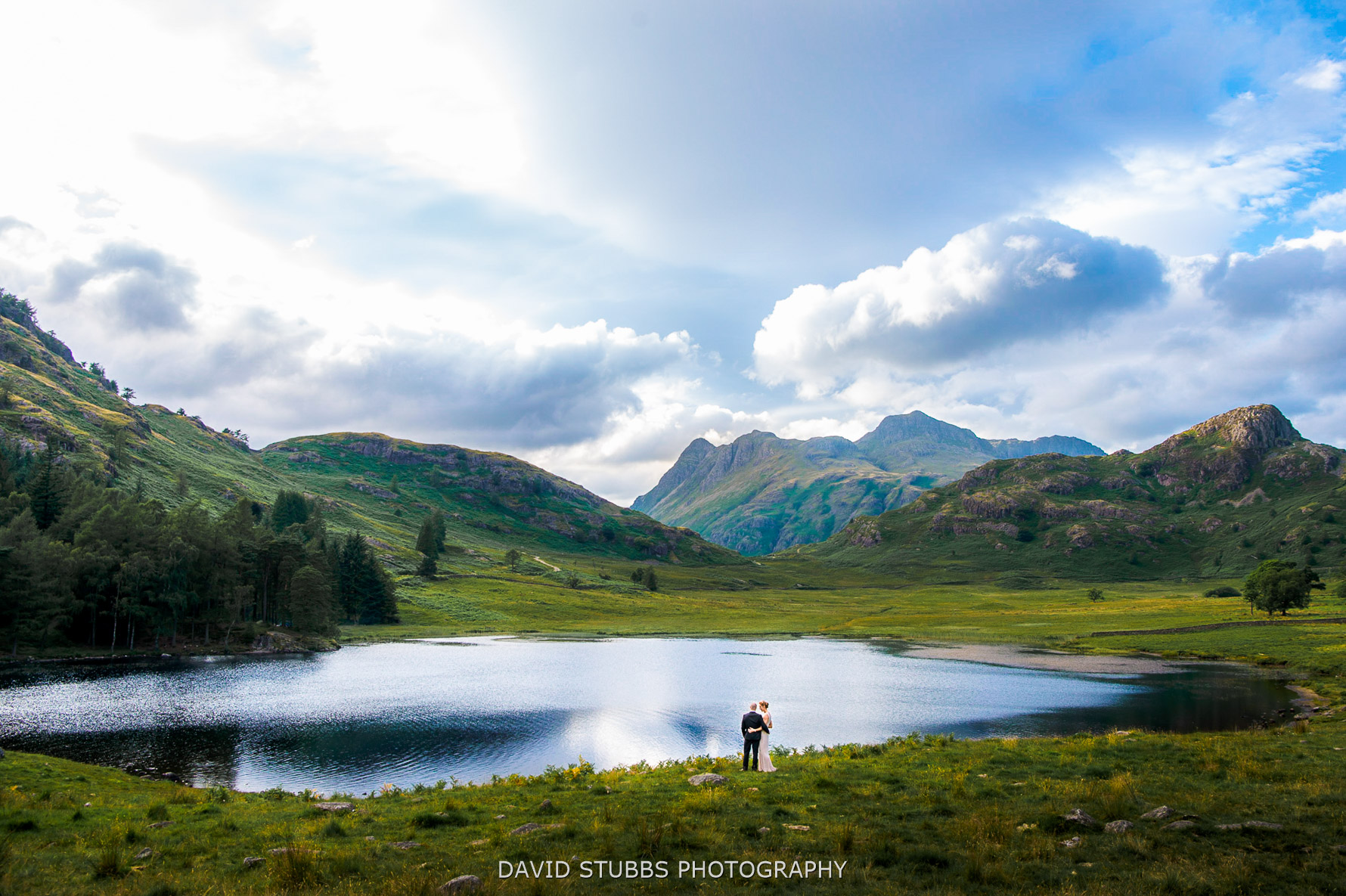 wide photo at blea tarn lakes
