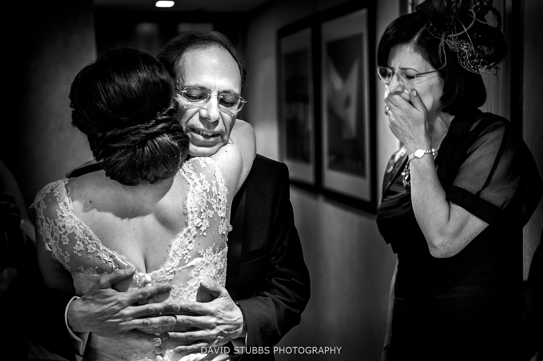 emotional moment with dad