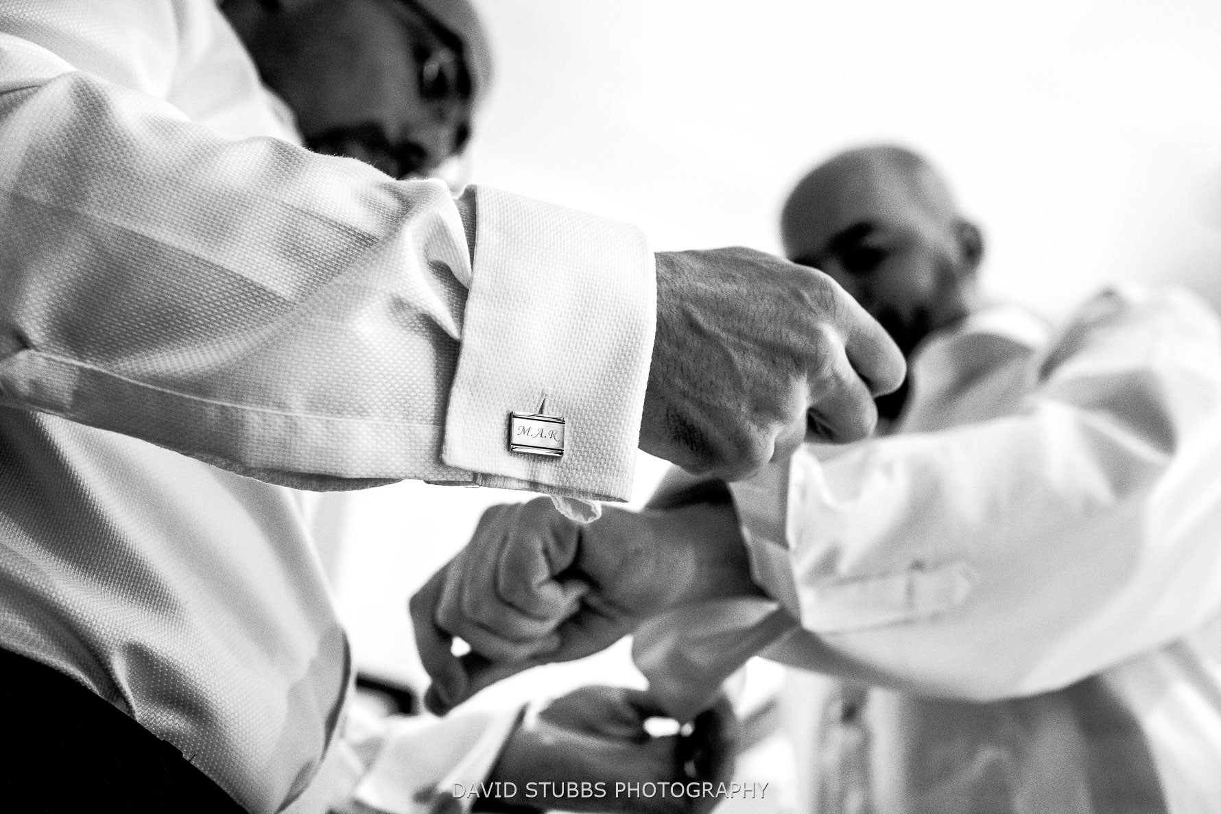 suits and cuff links preparations