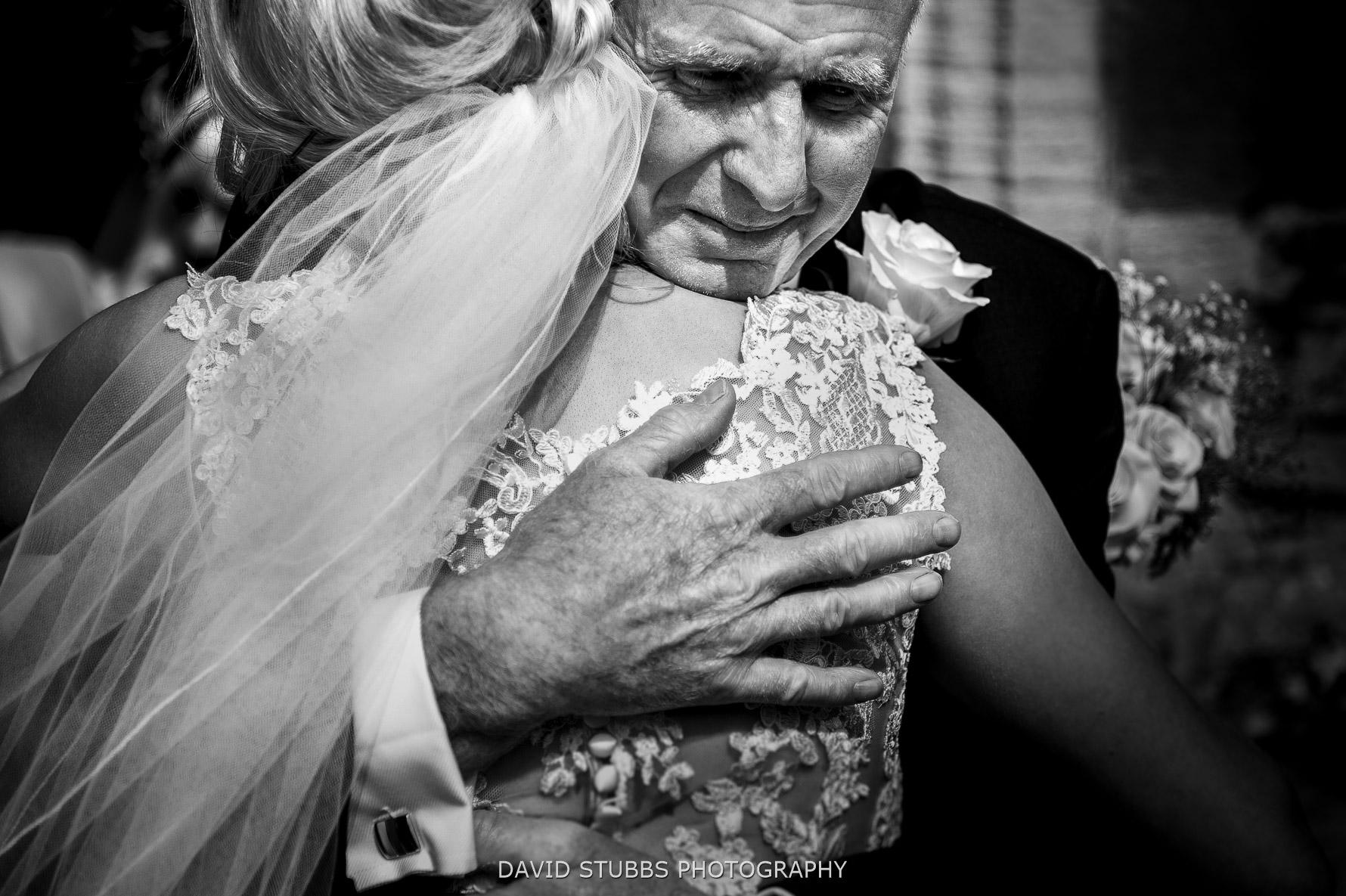 hugs dad