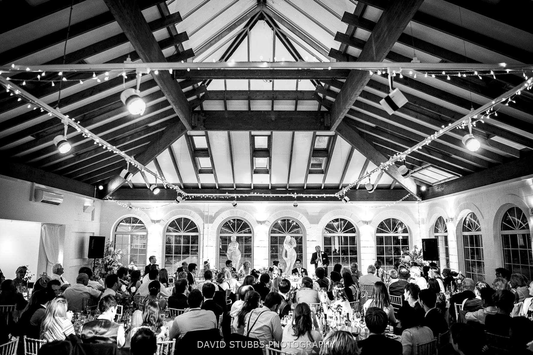 summer house wedding breakfast at Irnham