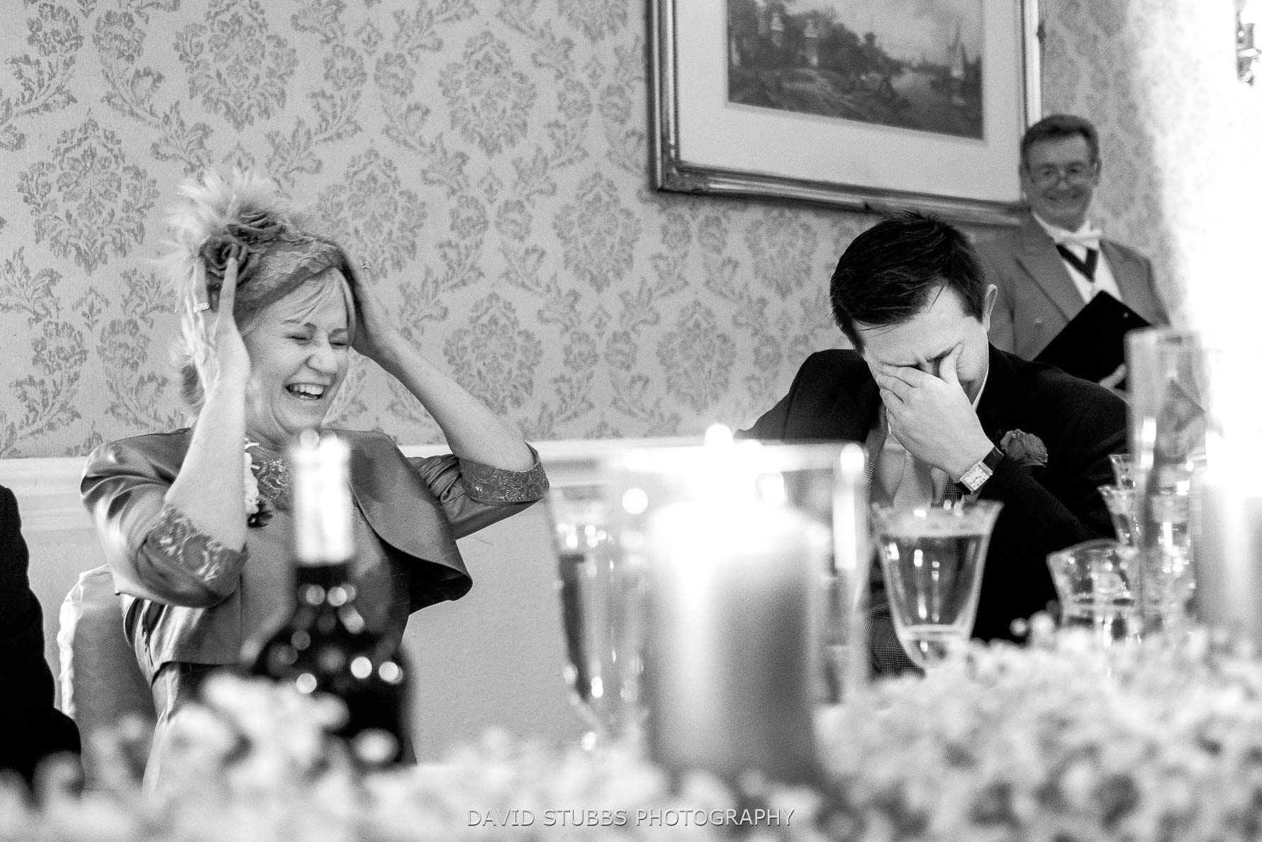 best man reaction to speech