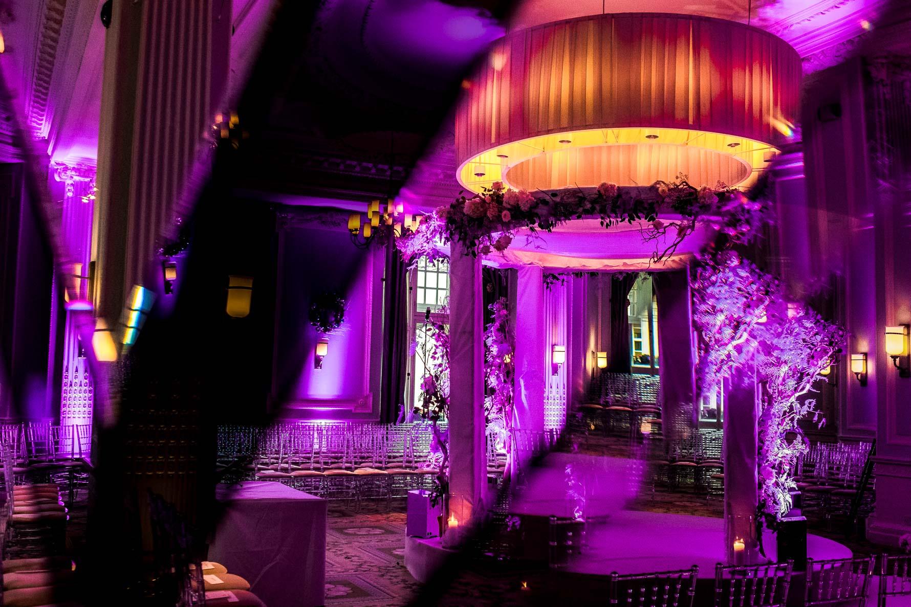 jewish ceremony midland hotel setup