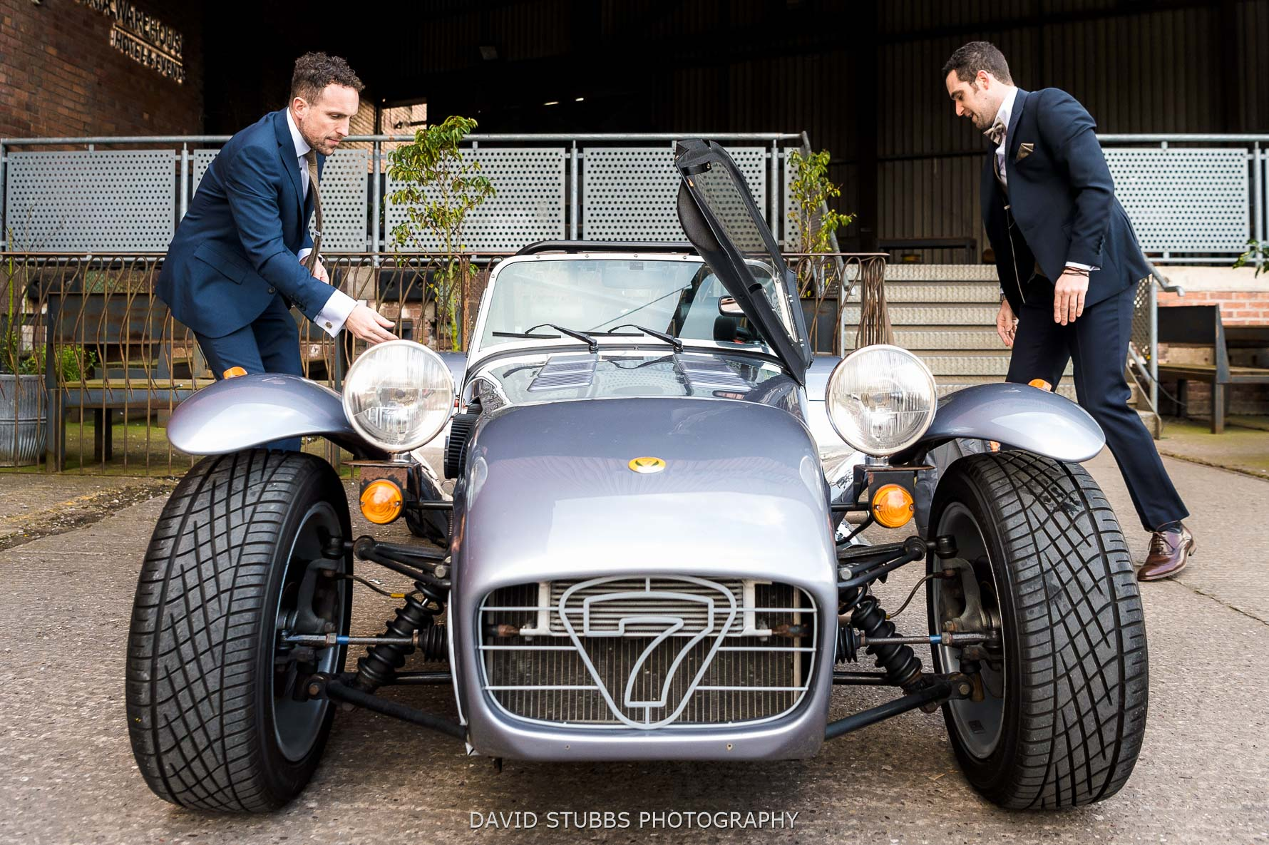 caterham at wedding