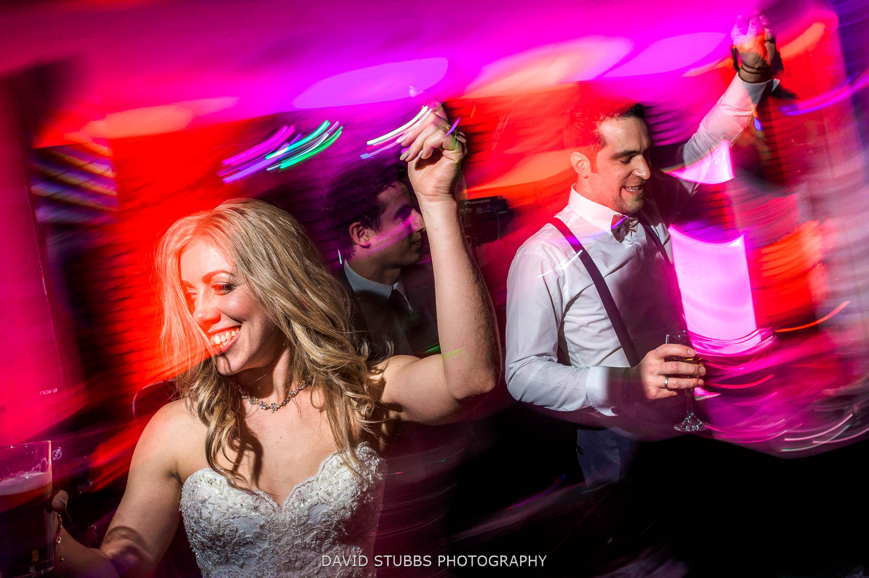 dance floor photography full of colour
