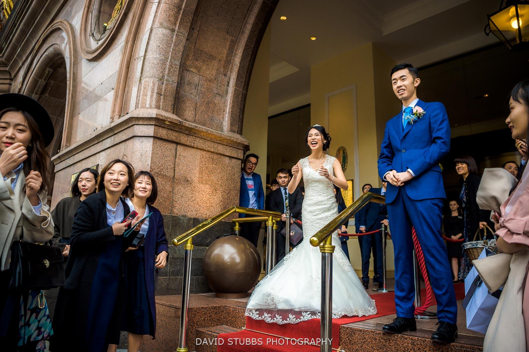 newlyweds reaction