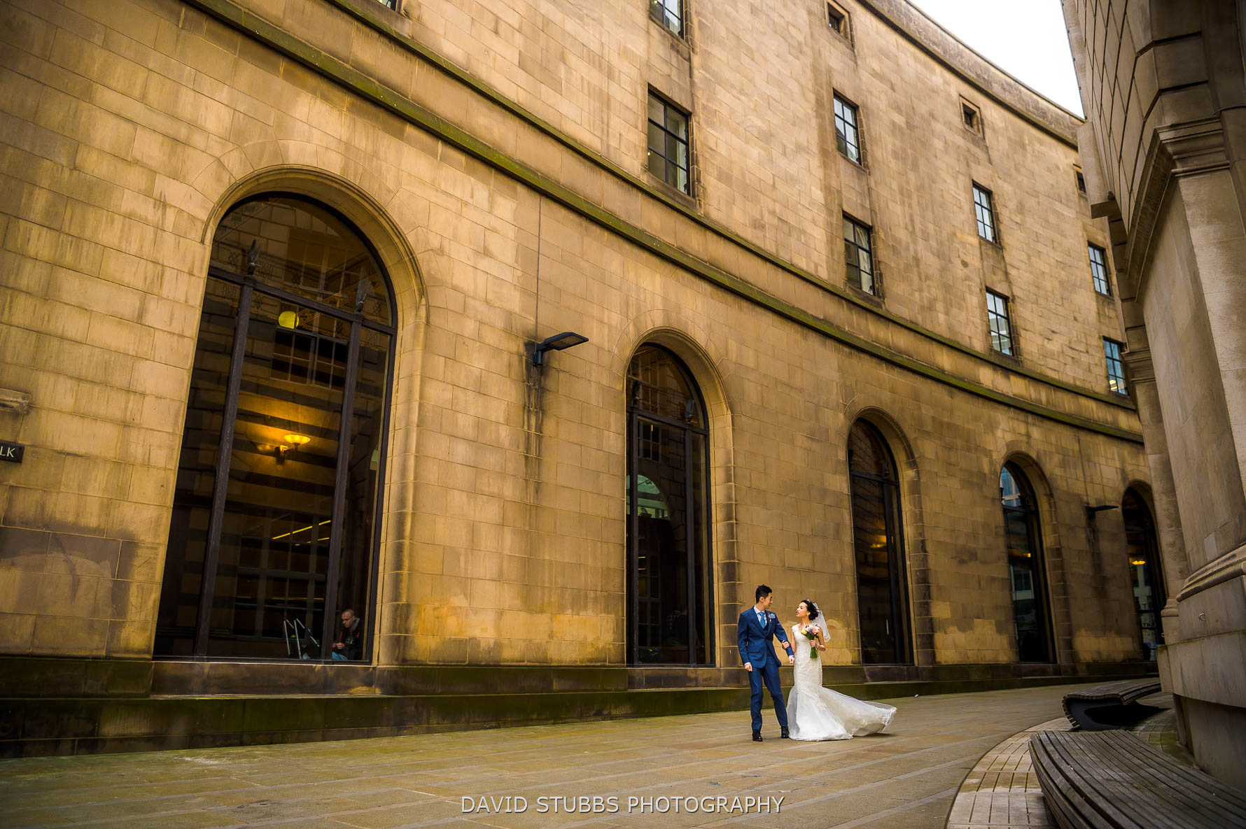 manchester city centre wedding photography