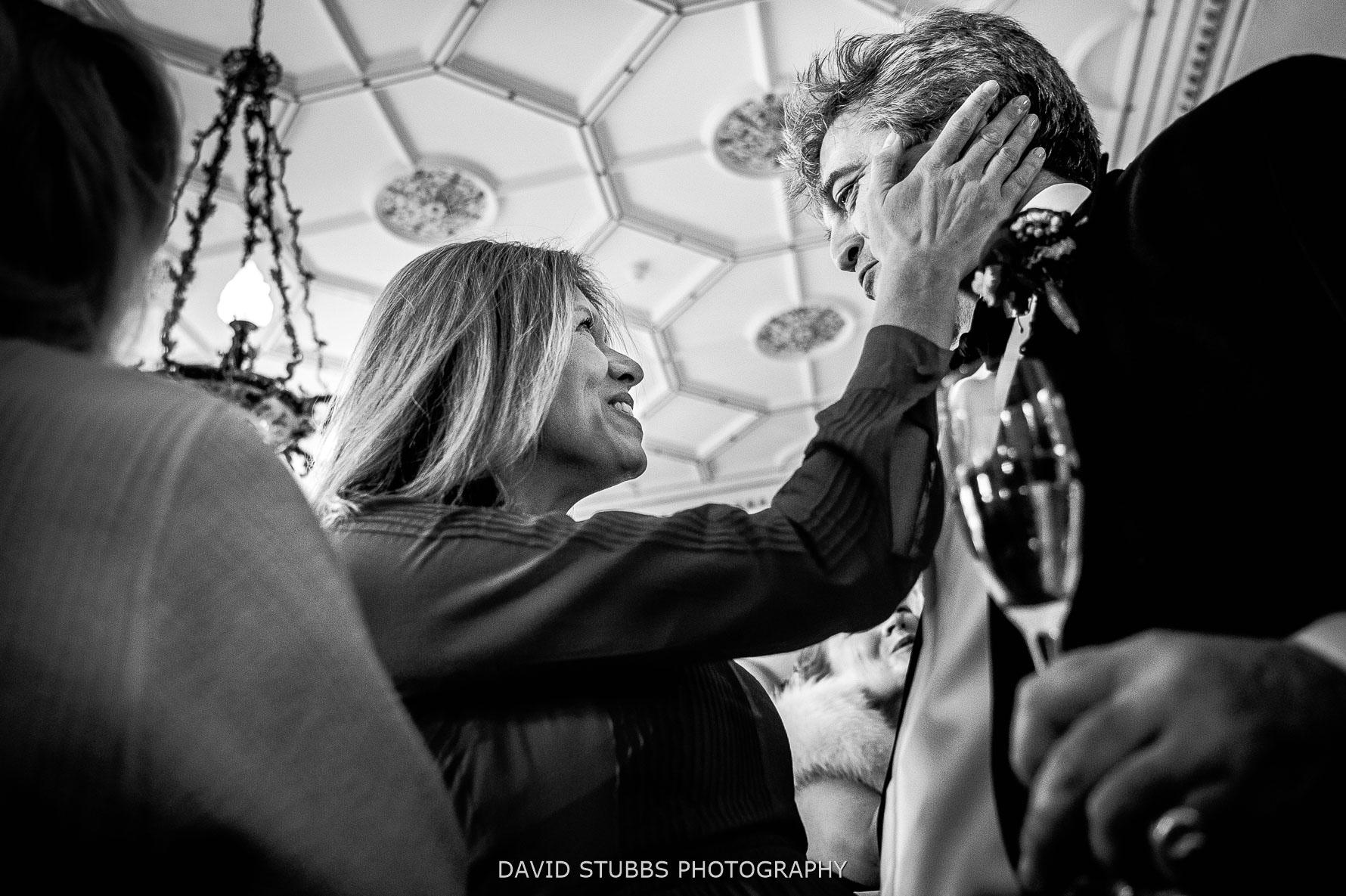 touching moment