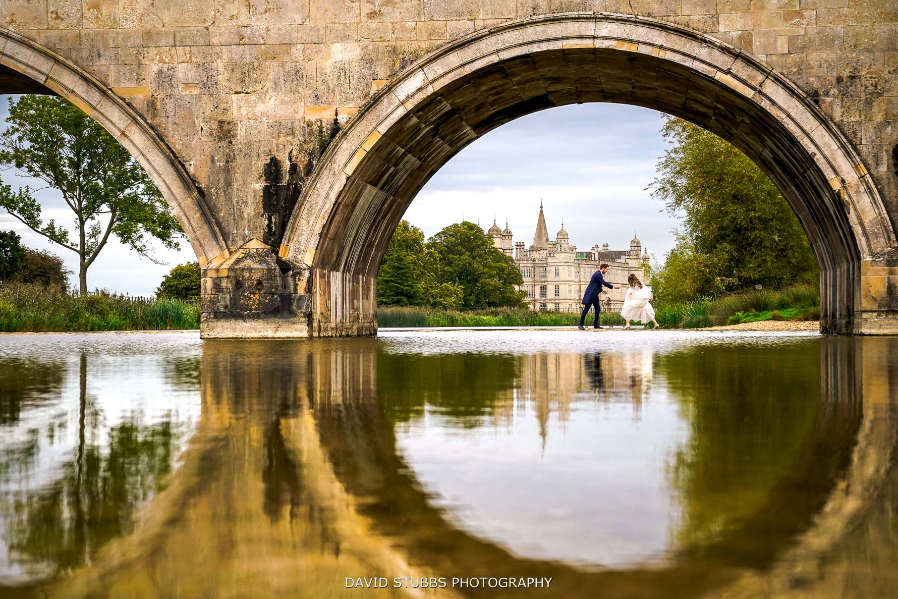 burghley house wedding photography