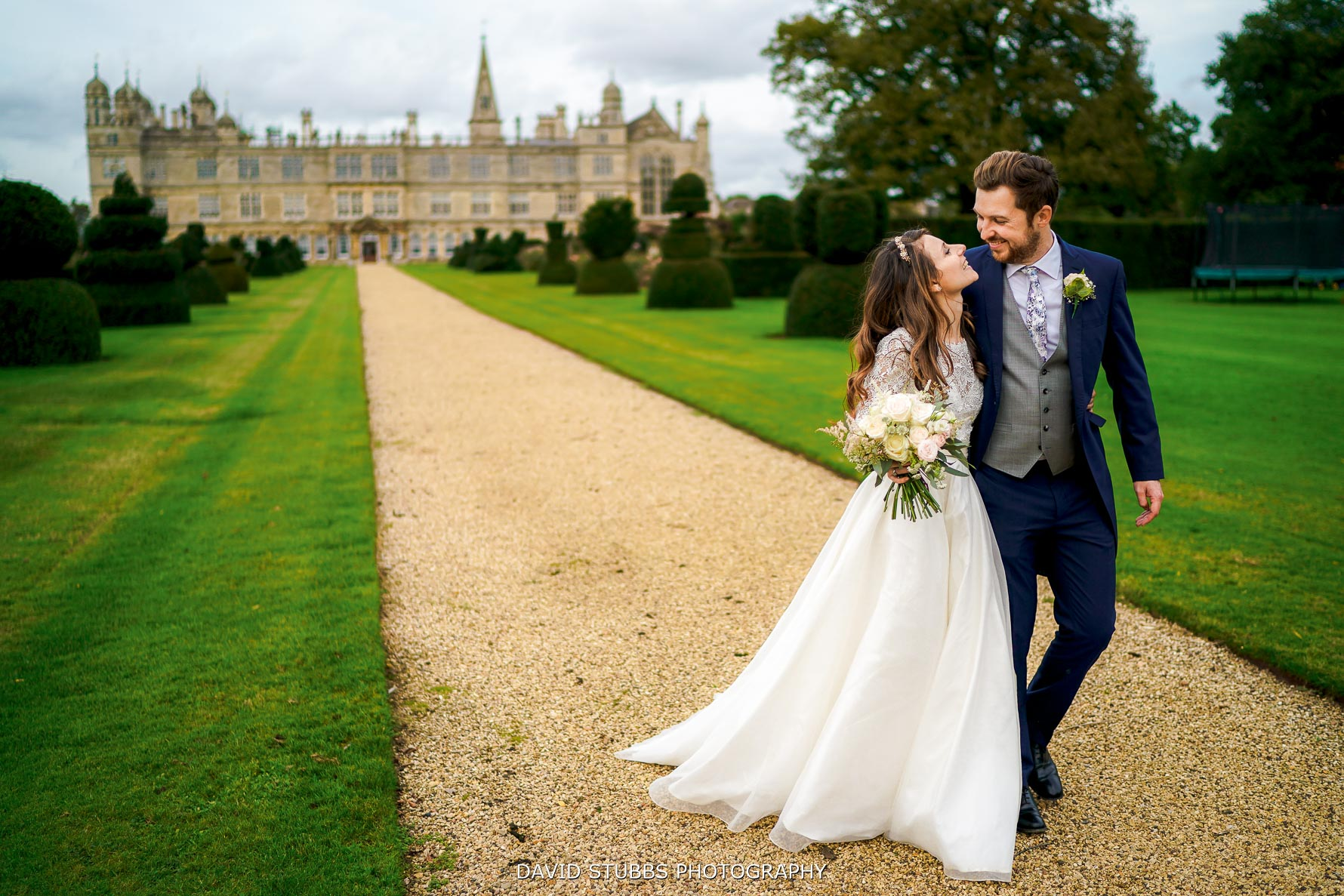 burghley house wedding photographer