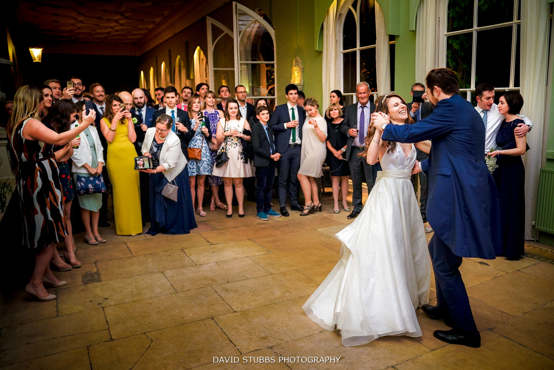 first dance at burghley house wedding