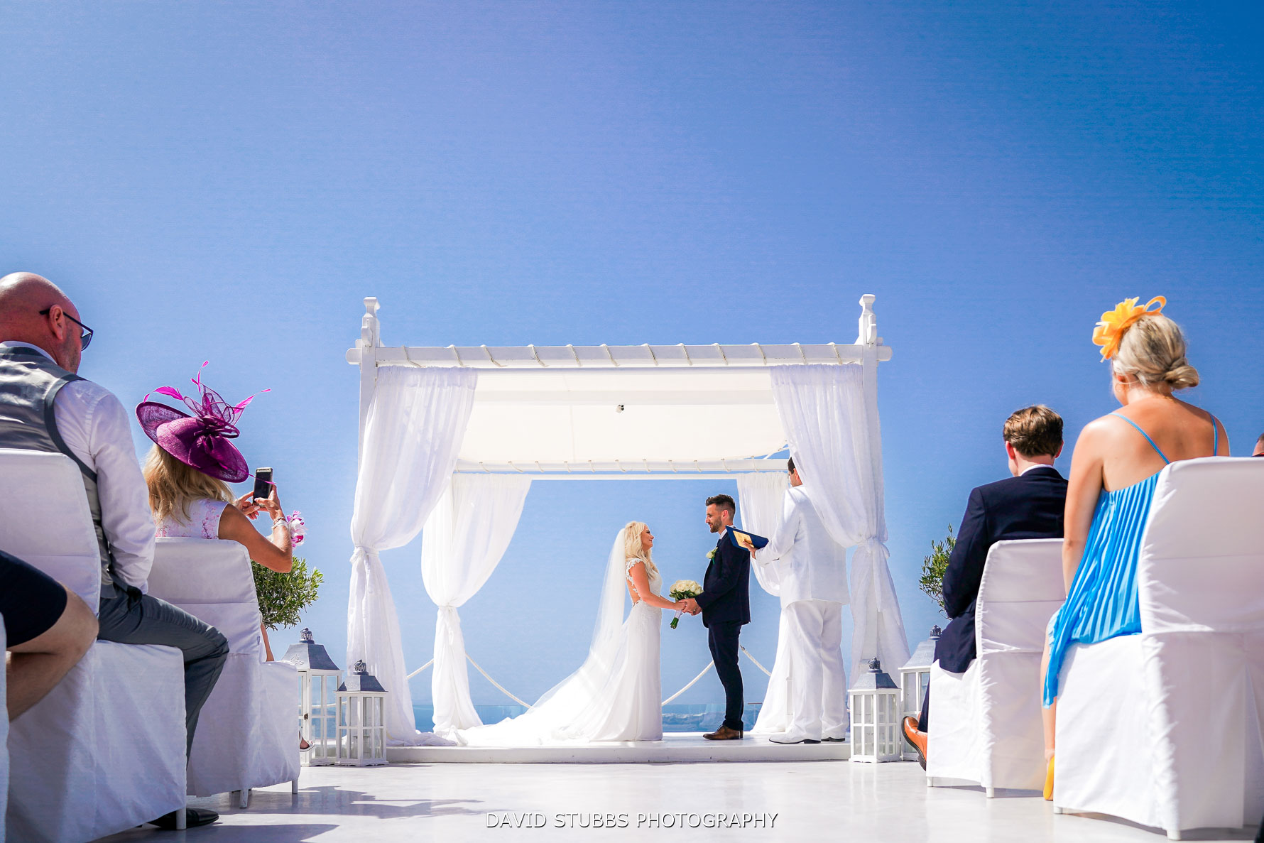 Santorini wedding photography gem