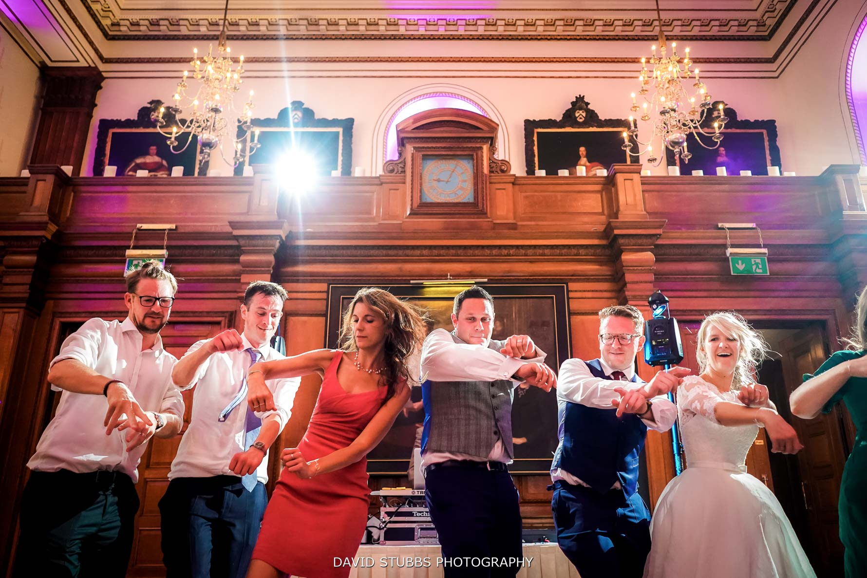 party at inner temple wedding