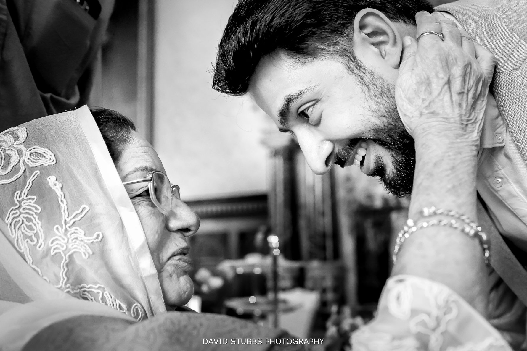 real moment with grandma