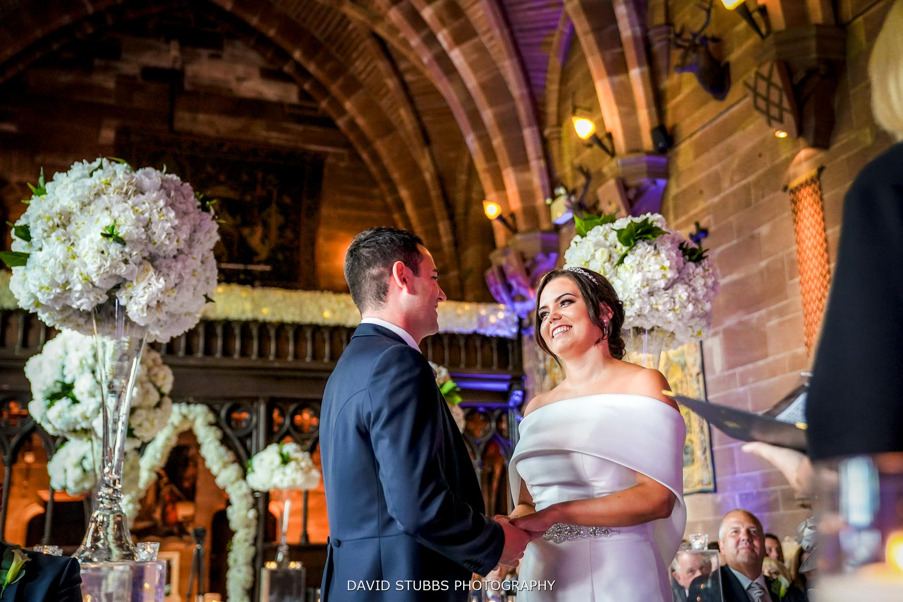 peckforton castle wedding ceremony