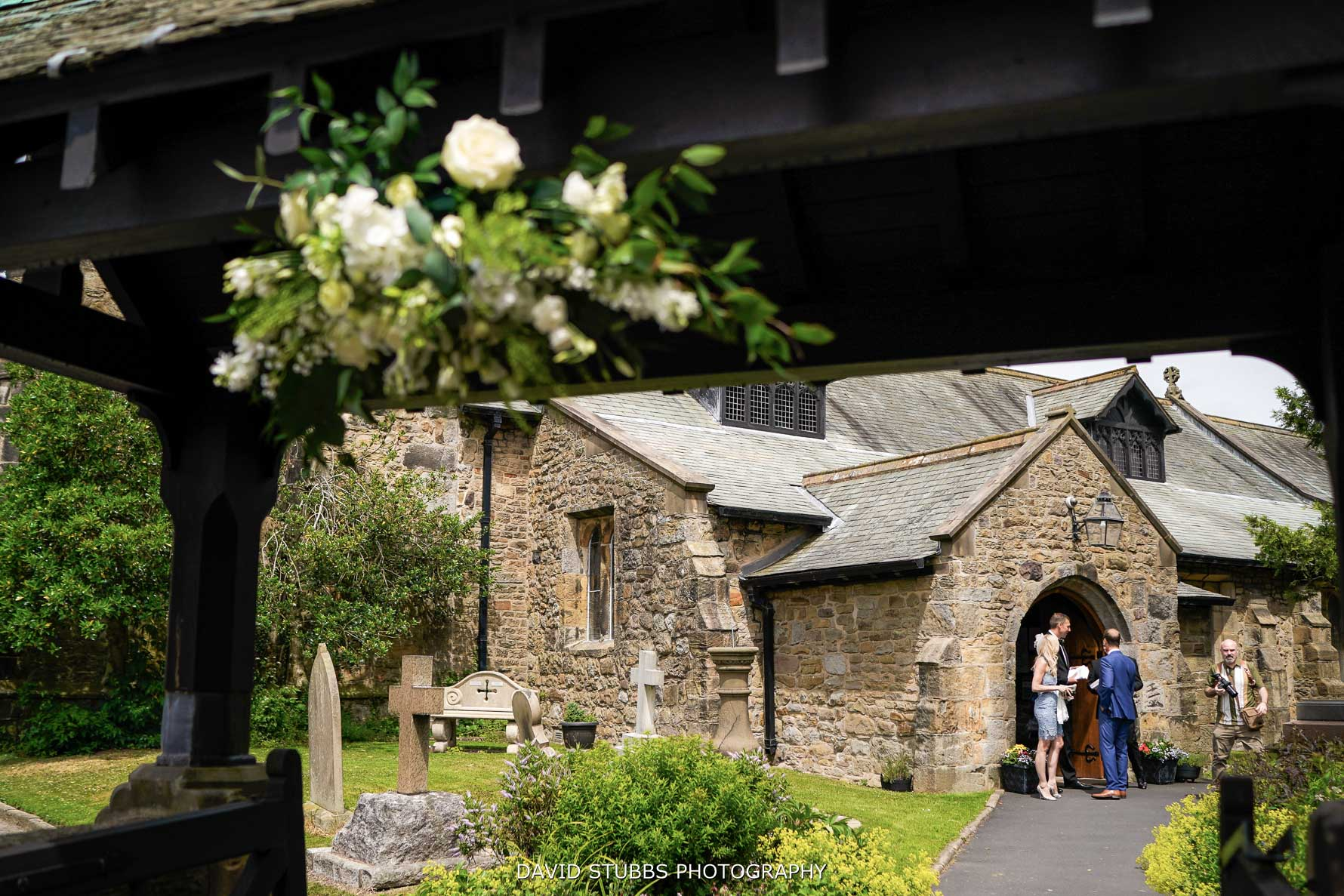 church, the location of the ceremony