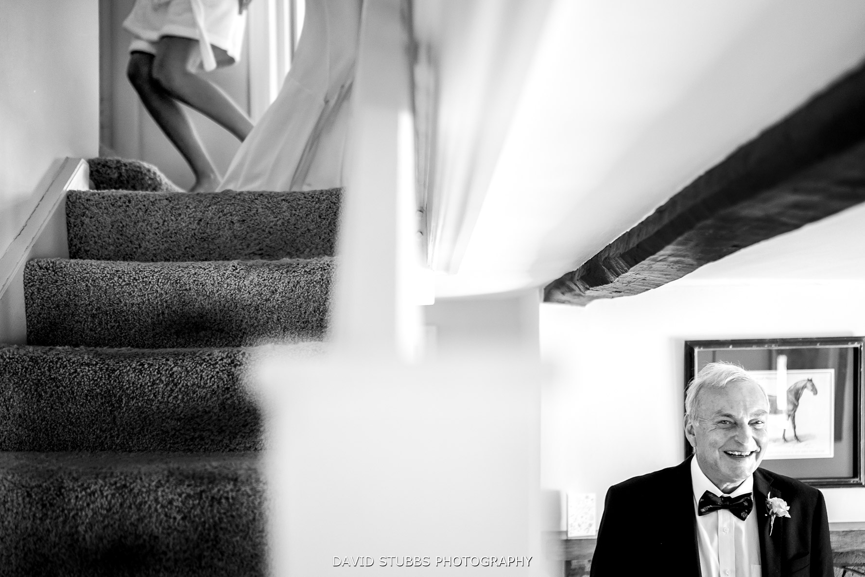 father of the bride with daughter