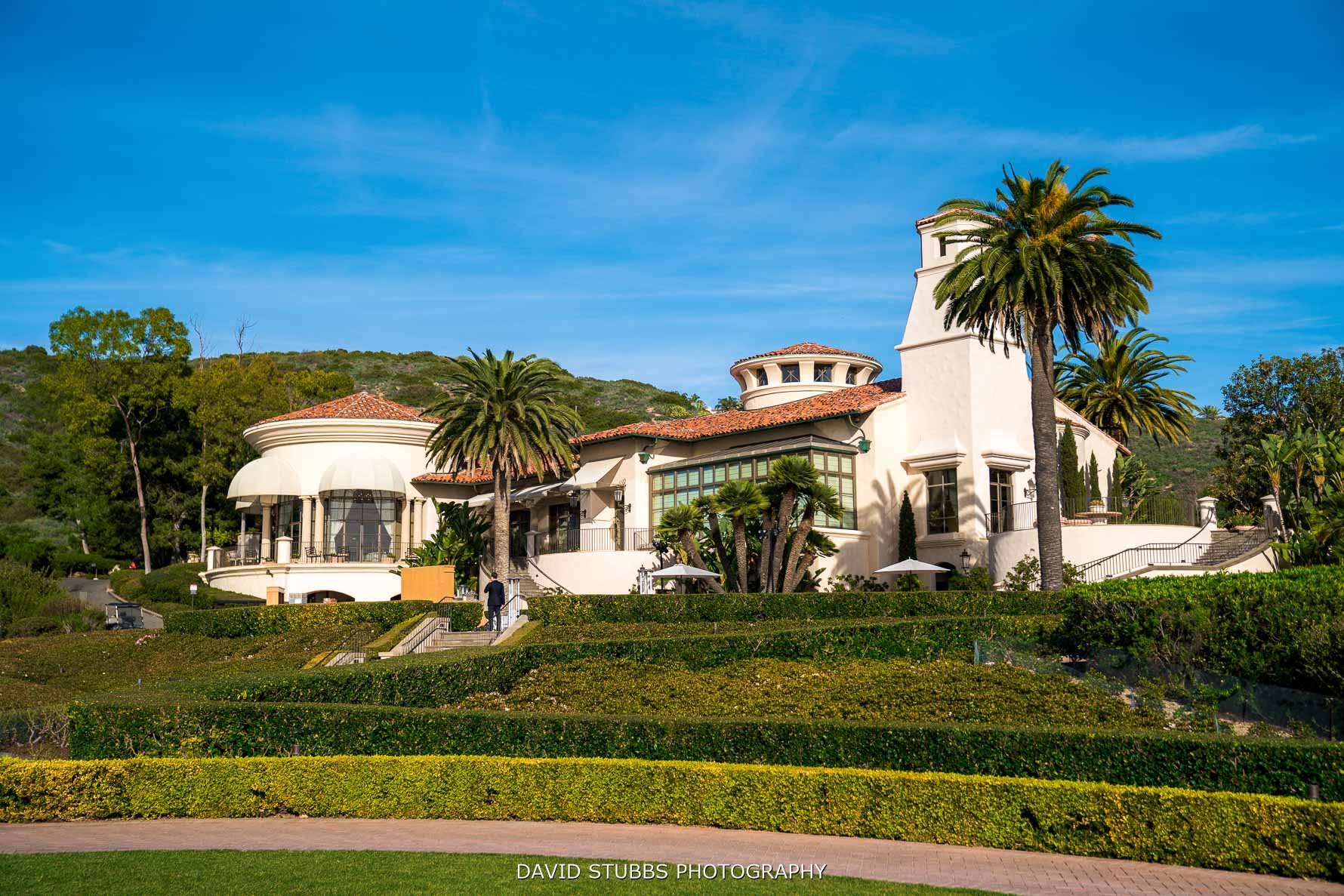 pelican hill sort from the front