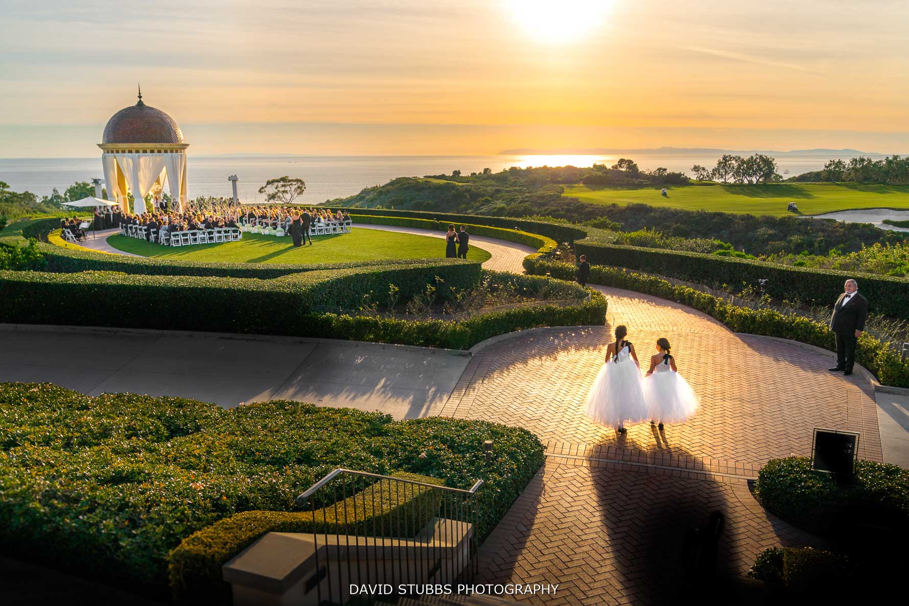 pelican hill resort wedding photography