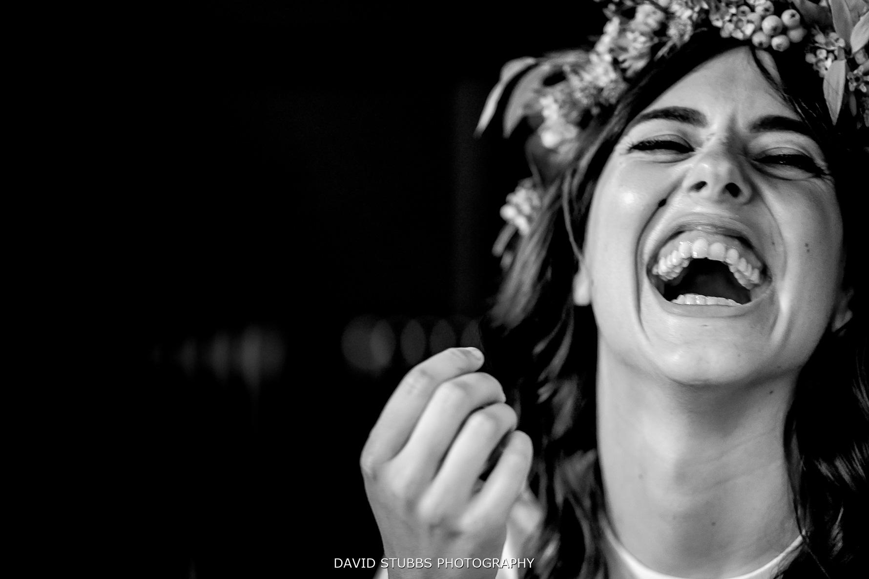 closeu-up brides reaction