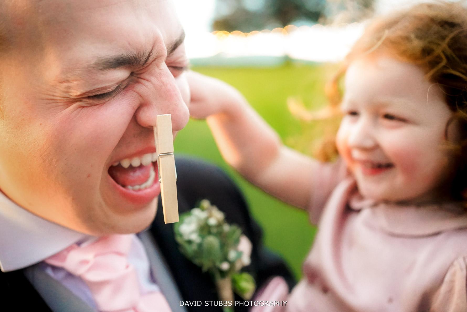 wedding pegging