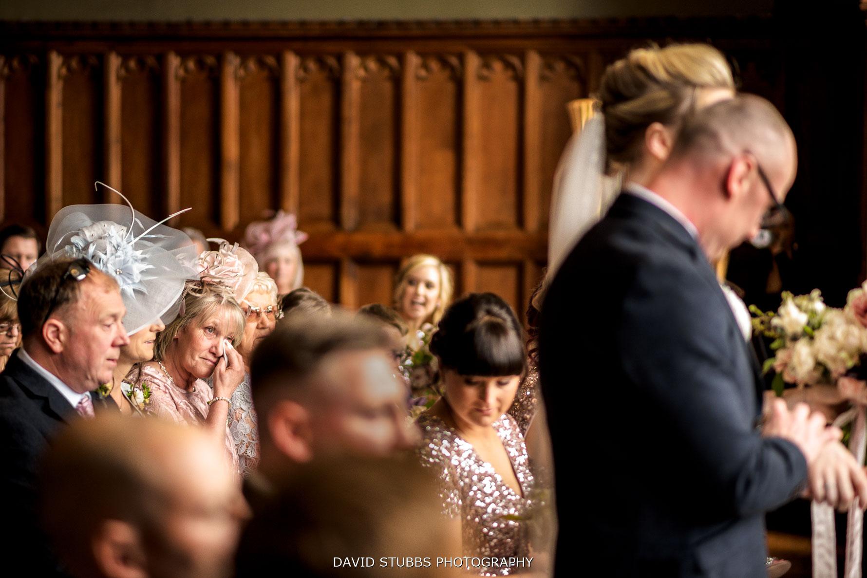 mum emptional for lingholm estate wedding