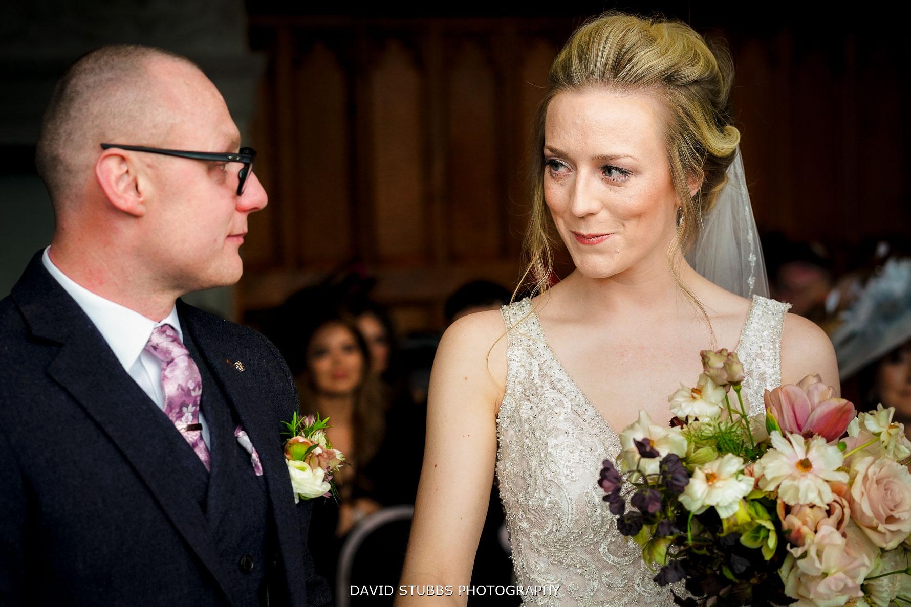 newlyweds together at lingholm estate