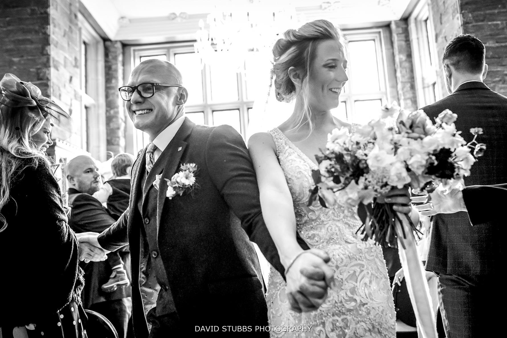newlyweds cerebrate marriage