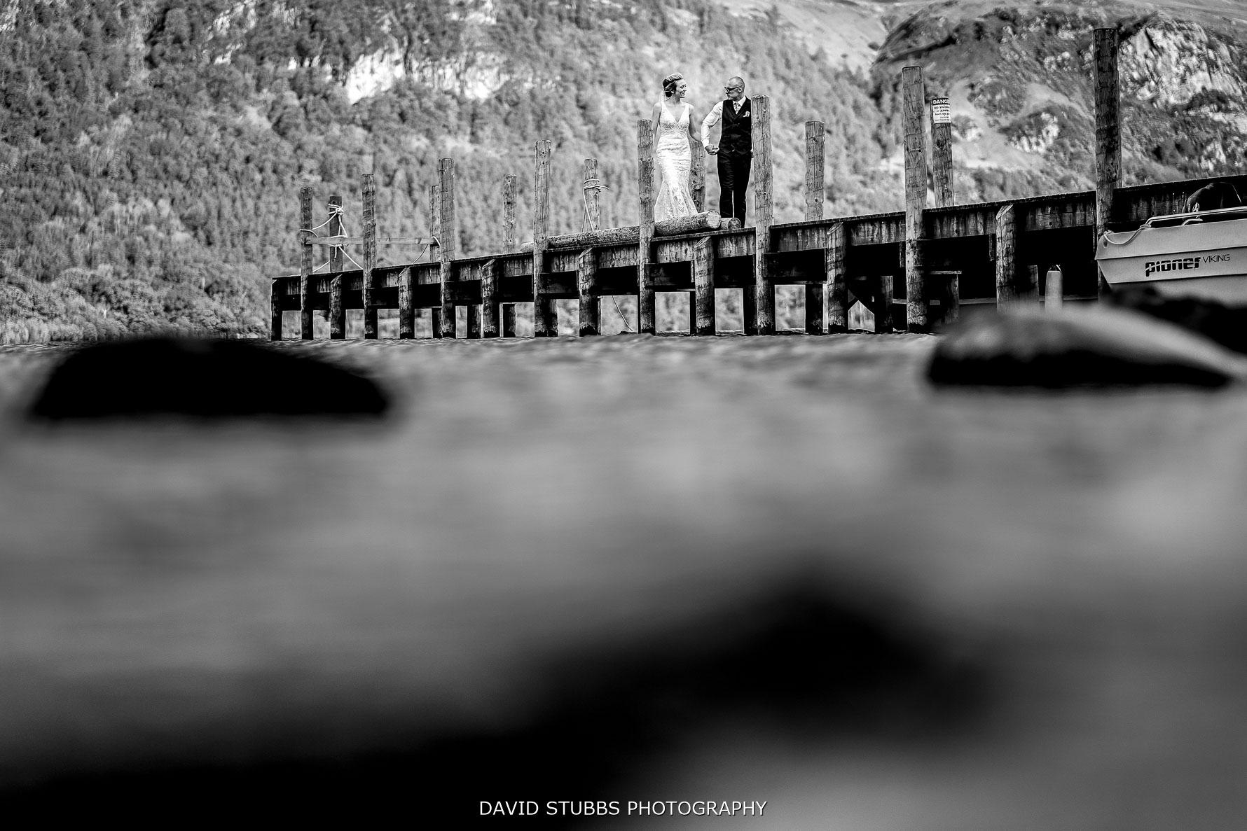 jetty in derwent water