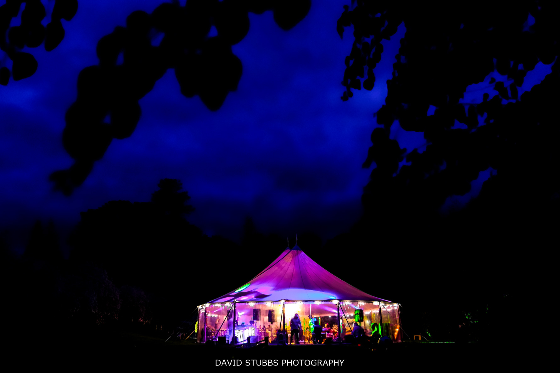 marquee at lingholm estate