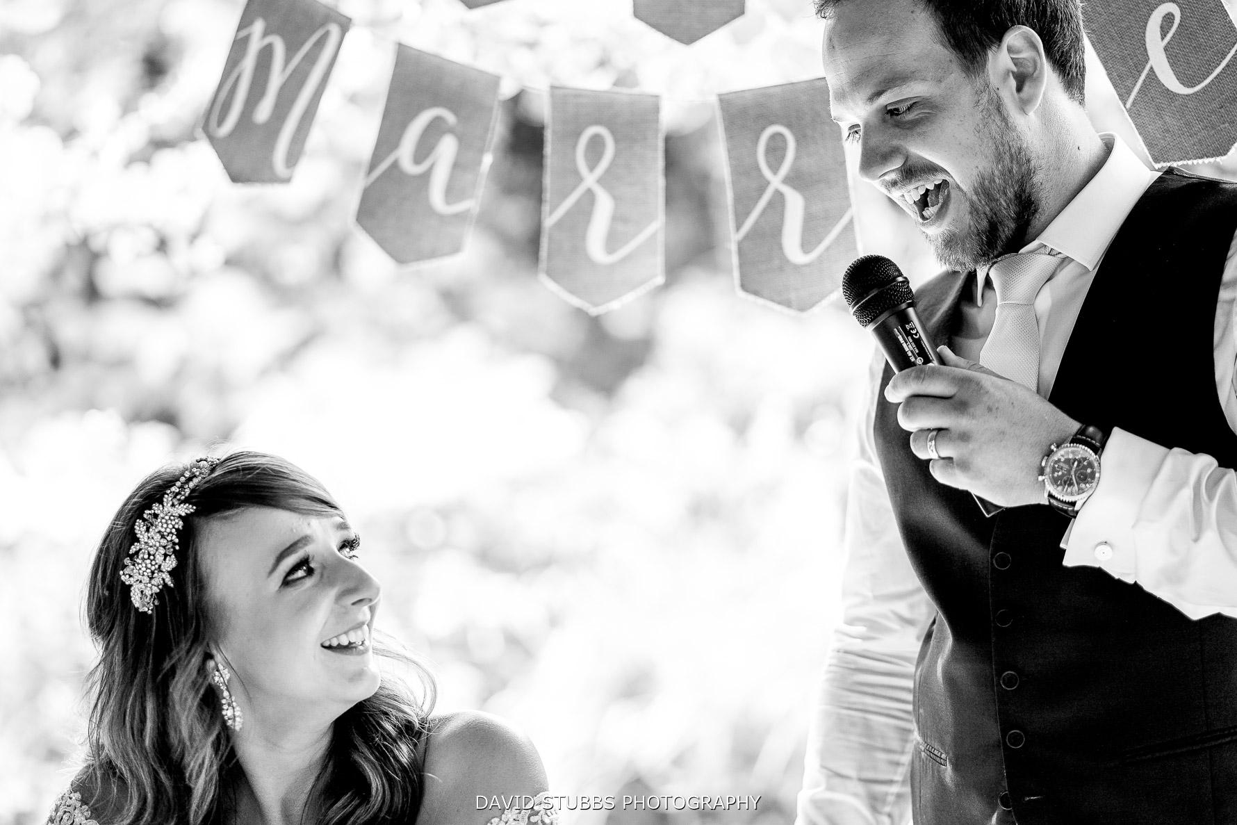 funny speech by groom