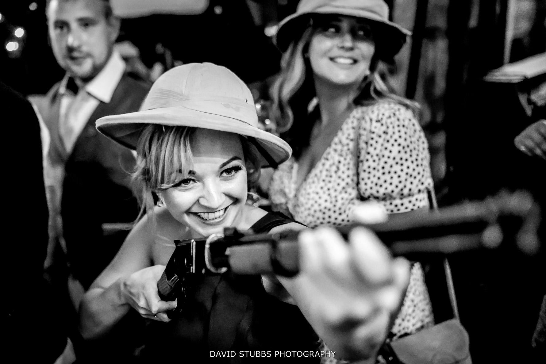 guns at maunsel house wedding